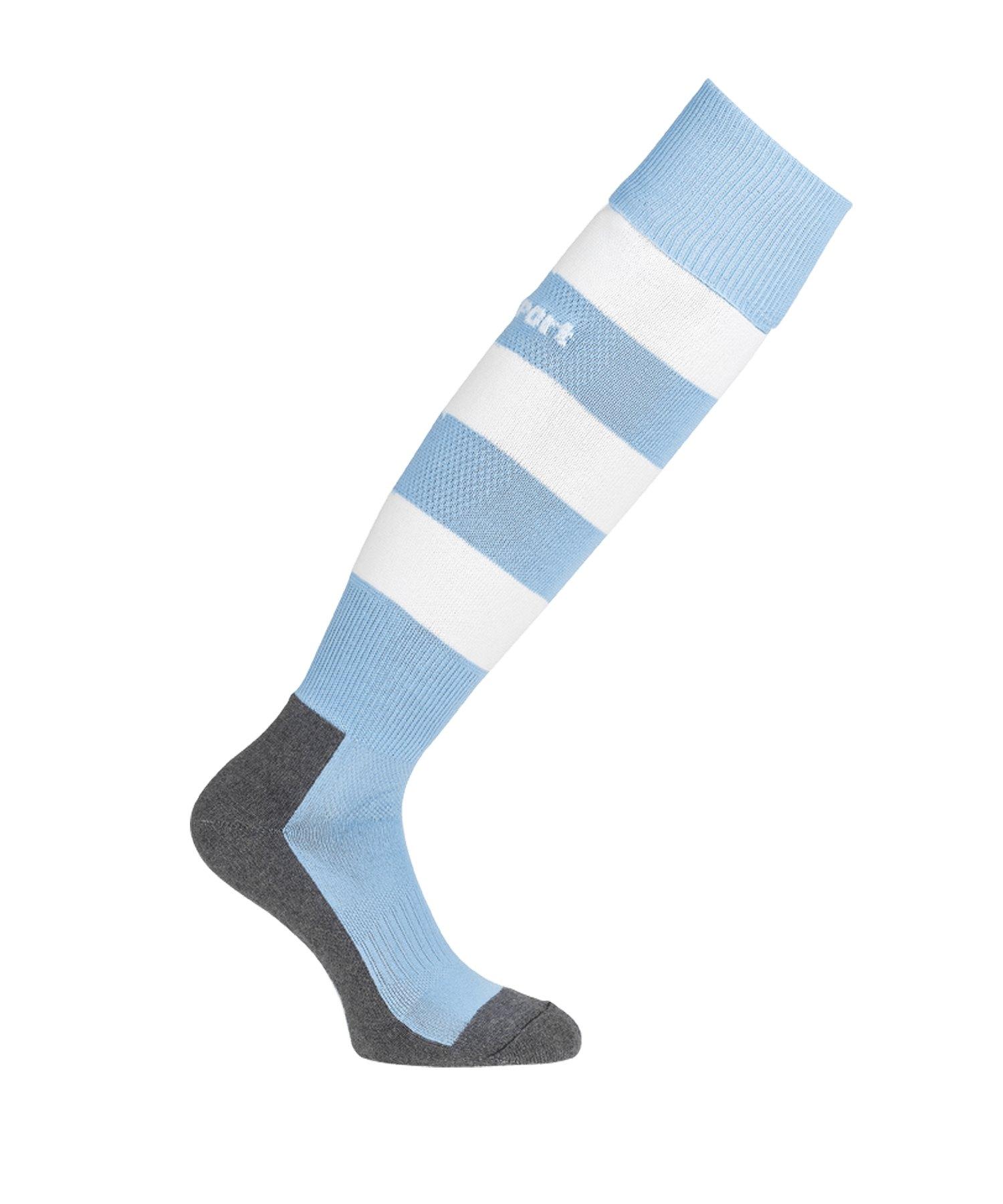 Uhlsport Team Pro Stripe Stutzenstrumpf Blau F08 - blau