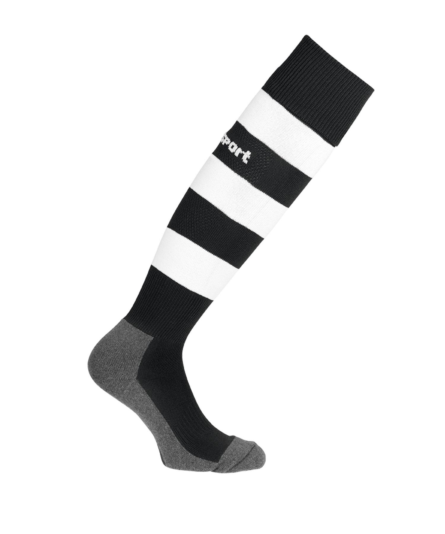 Uhlsport Team Pro Stripe Stutzenstrumpf F01 - schwarz