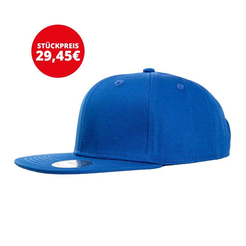 FuPa 30x Vereins-Cap Schriftzug Blau - blau