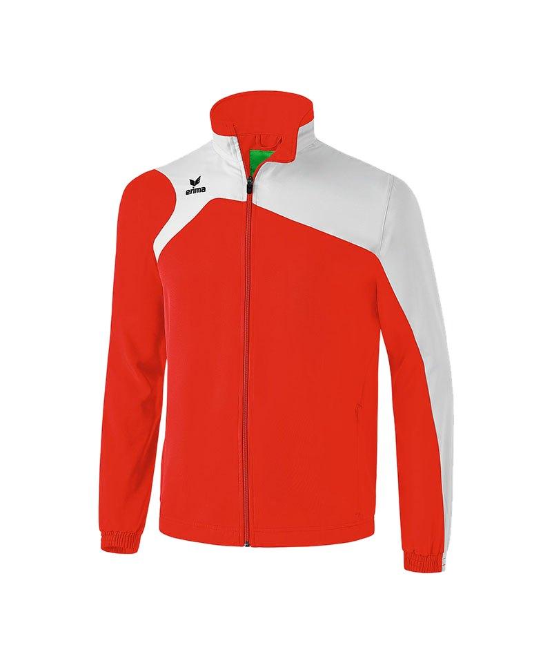 Erima Präsentationsjacke Club 1900 2.0 Rot Weiss - rot