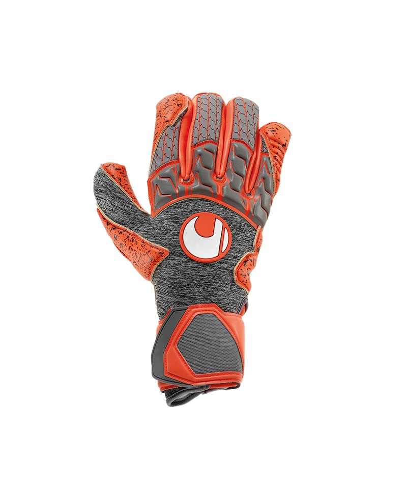 Uhlsport Aerored Supergrip Handschuh Grau F02 - grau