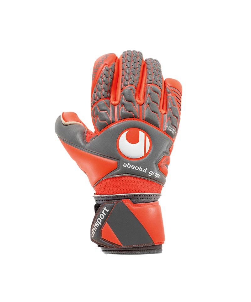 Uhlsport Absolutgrip Finger Surround Handschuh F02 - grau