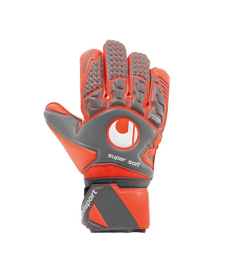 Uhlsport Aerored Supersoft TW-Handschuh Grau F02 - grau