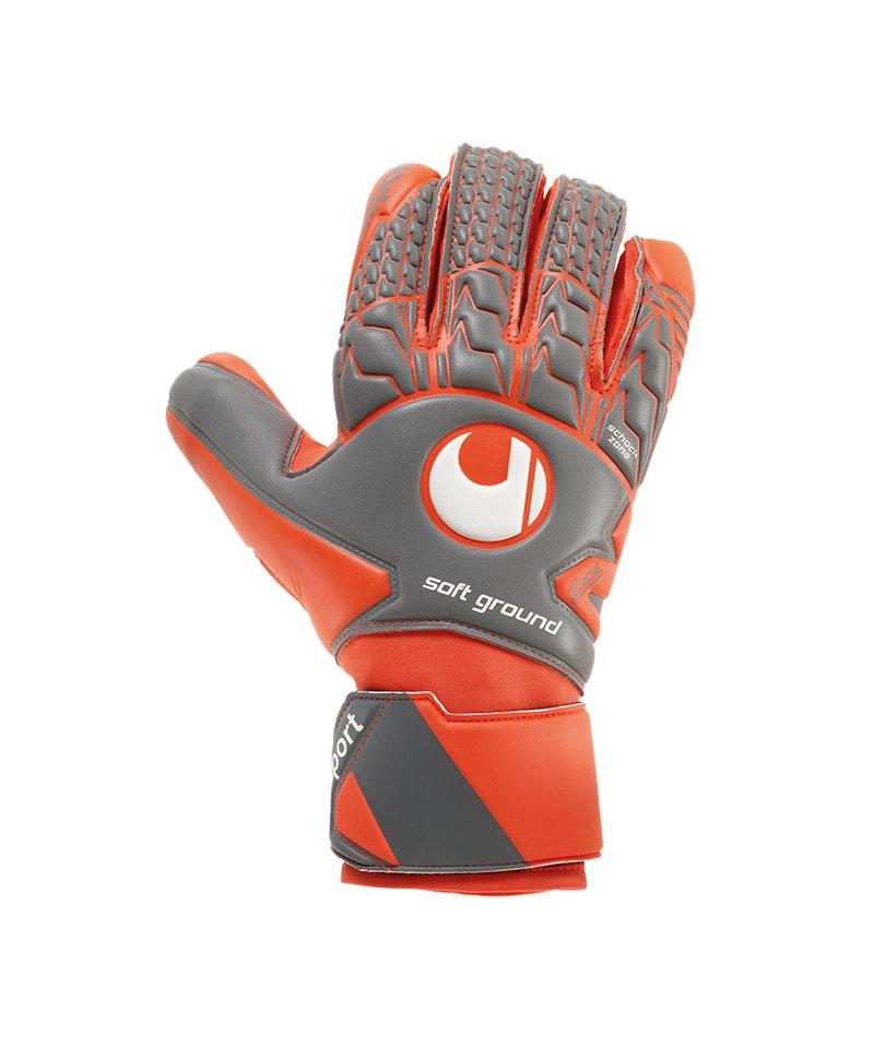 Uhlsport Aerored Soft HN Comp TW-Handschuh F02 - grau
