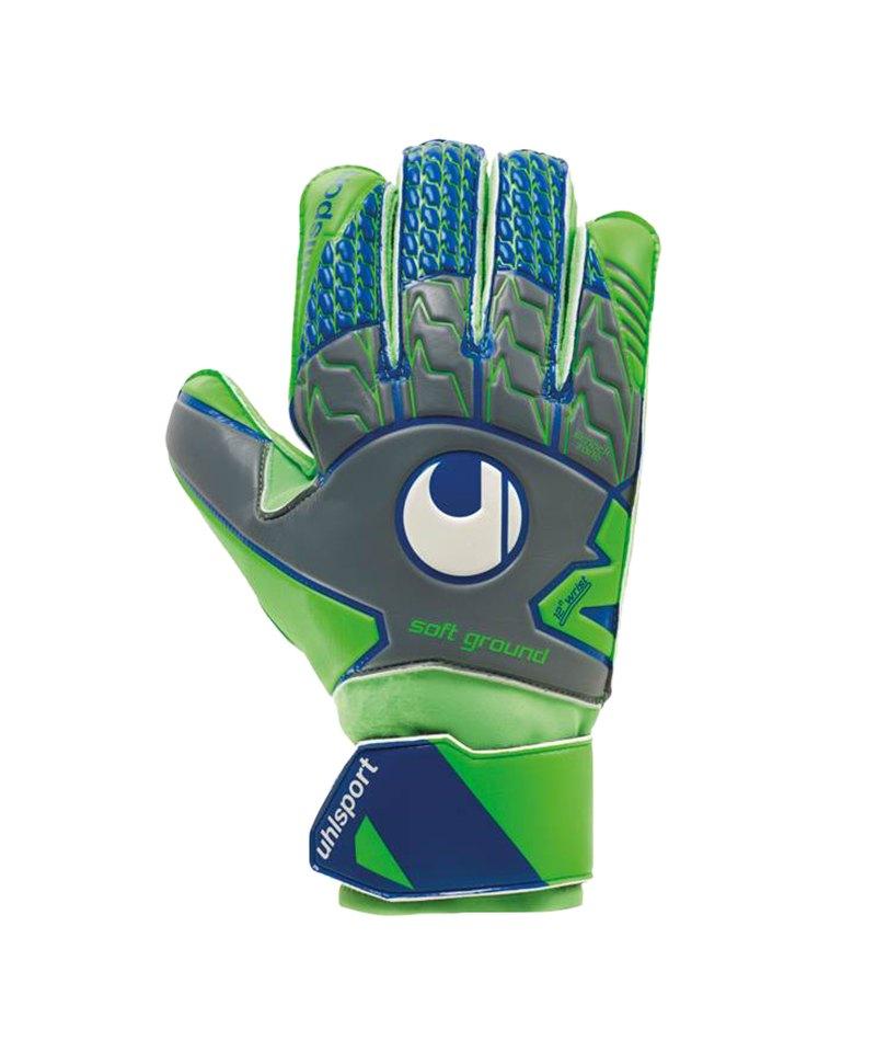 Uhlsport Soft Pro TW-Handschuh Grau F01 - grau