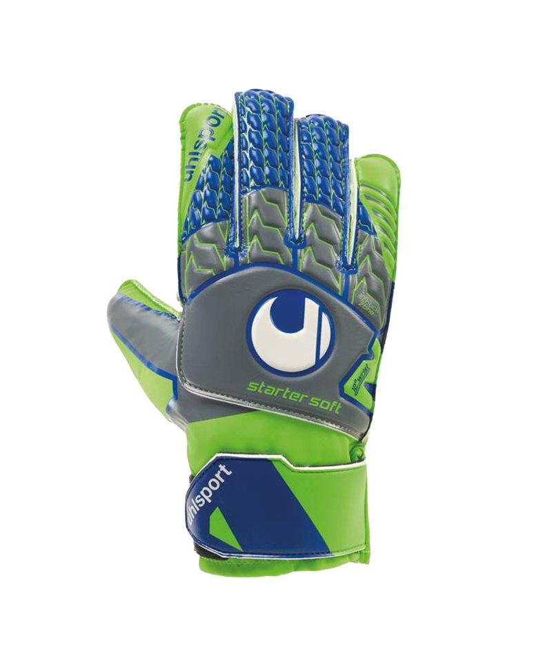 Uhlsport Tensiongreen Starter Soft Handschuh F01 - grau