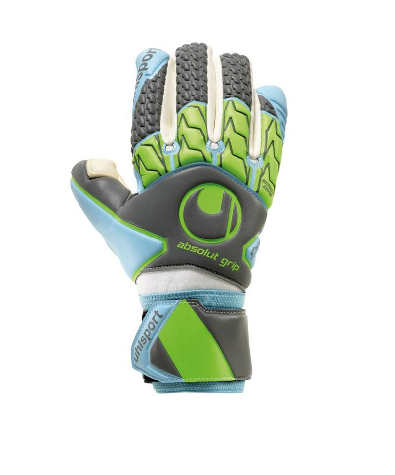 Uhlsport Absolutgrip Tight HN TW-Handschuh F01 - grau