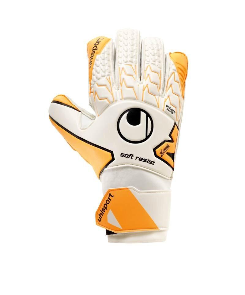 Uhlsport Soft Resist TW-Handschuh Weiss F01 - weiss