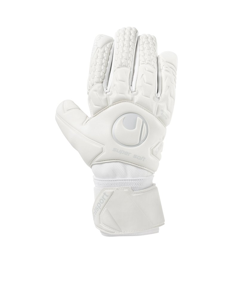 Uhlsport Supersoft HN Torwarthandschuh Weiss F04 - weiss