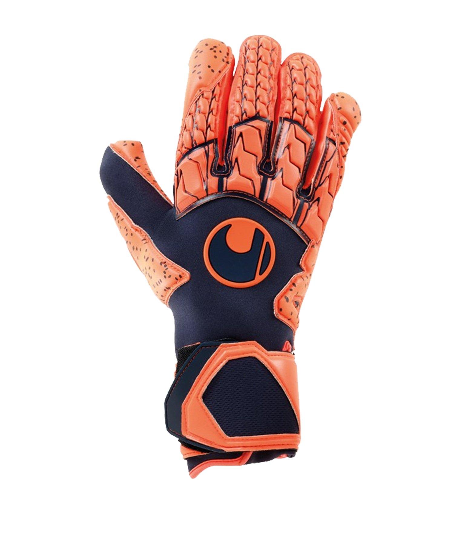 Uhlsport Next Level Supergrip HN Orange F01 - blau