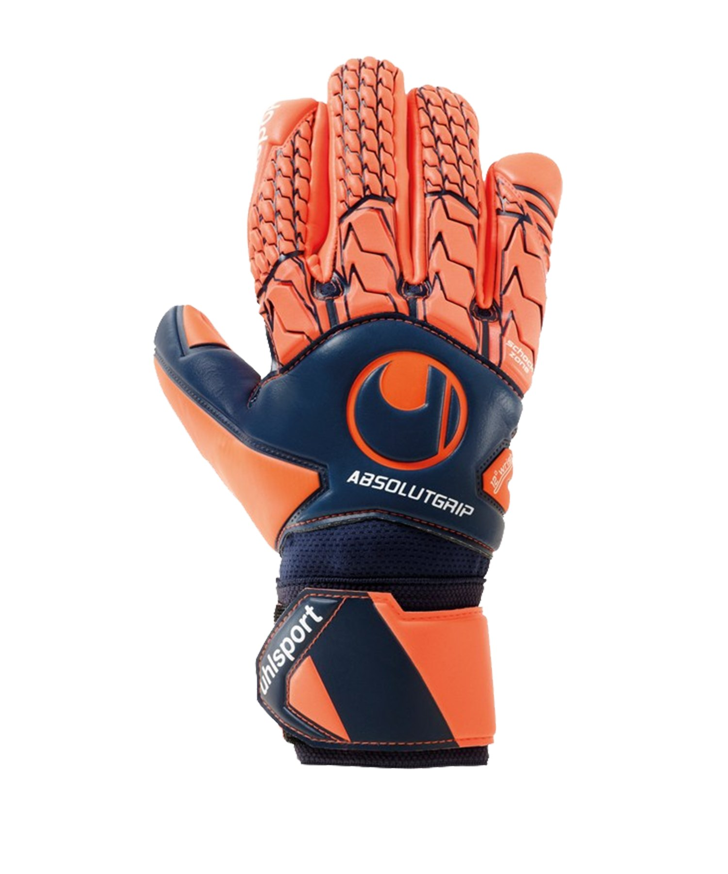 Uhlsport Next Level AG HN TW-Handschuh Orange F01 - blau