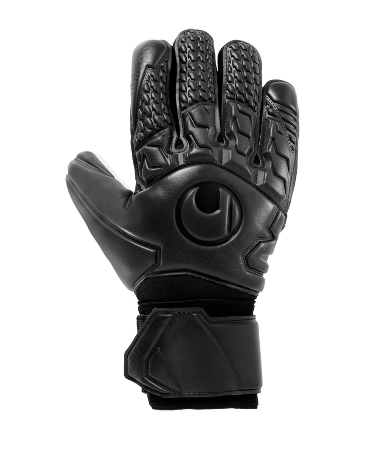 Uhlsport Comfort AG HN TW-Handschuh Schwarz F01 - schwarz