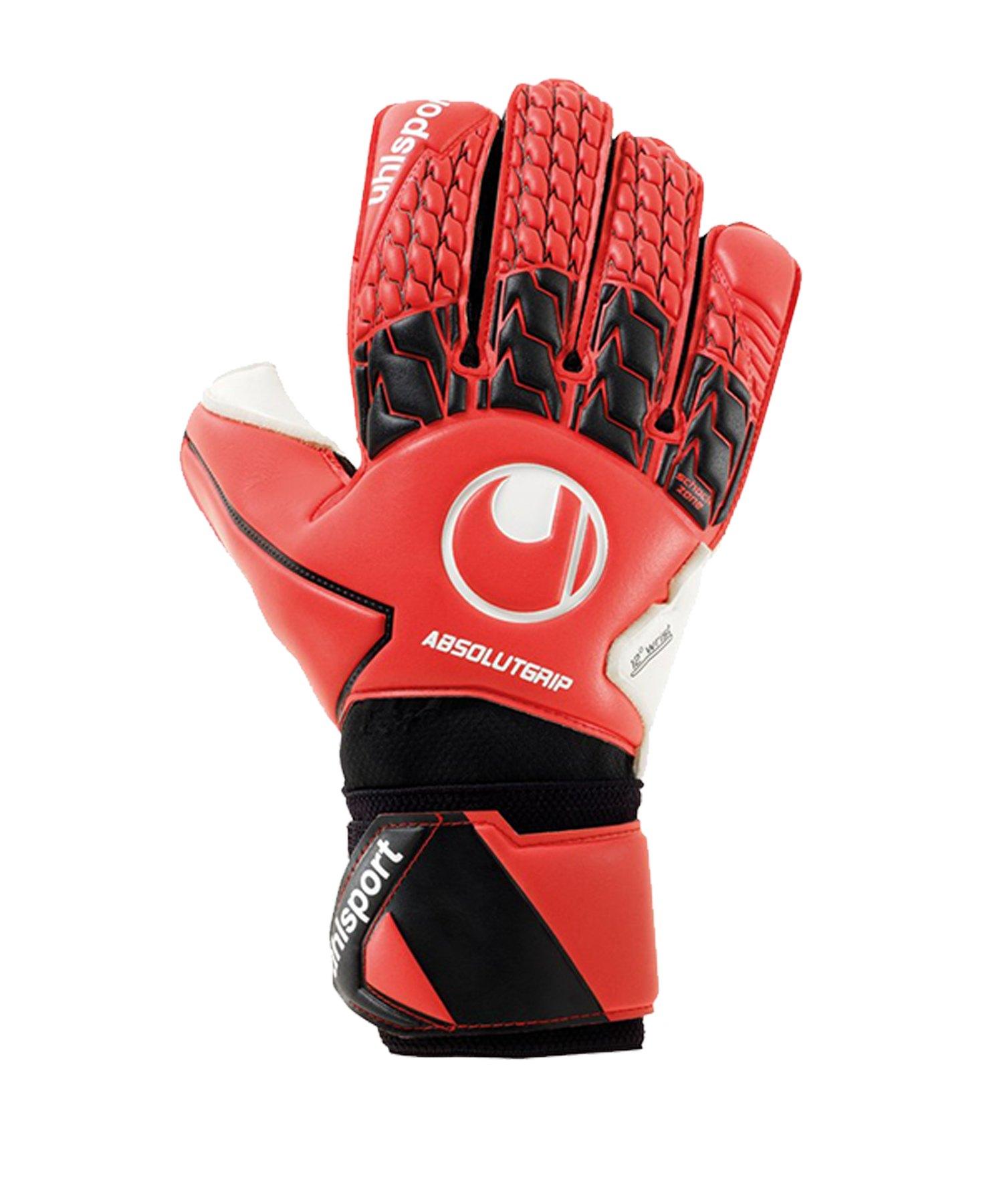 Uhlsport Absolutgrip TW-Handschuh Kids F01 - Rot