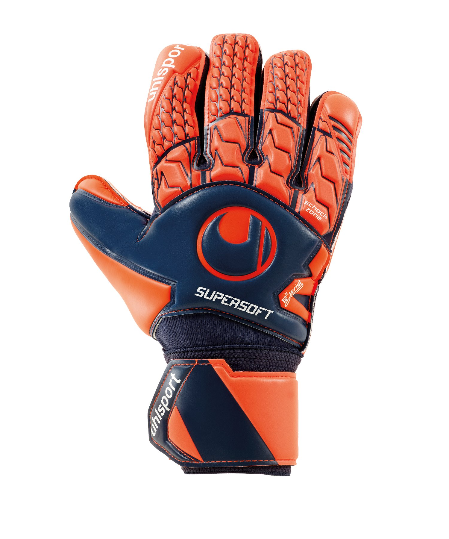 Uhlsport Next Level Supersoft Handschuh F01 - Blau