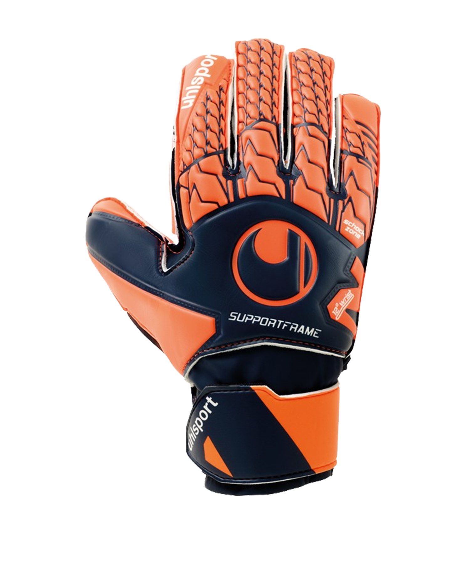 Uhlsport Next Level Soft SF TW-Handschuh Kids Orange F01 - blau