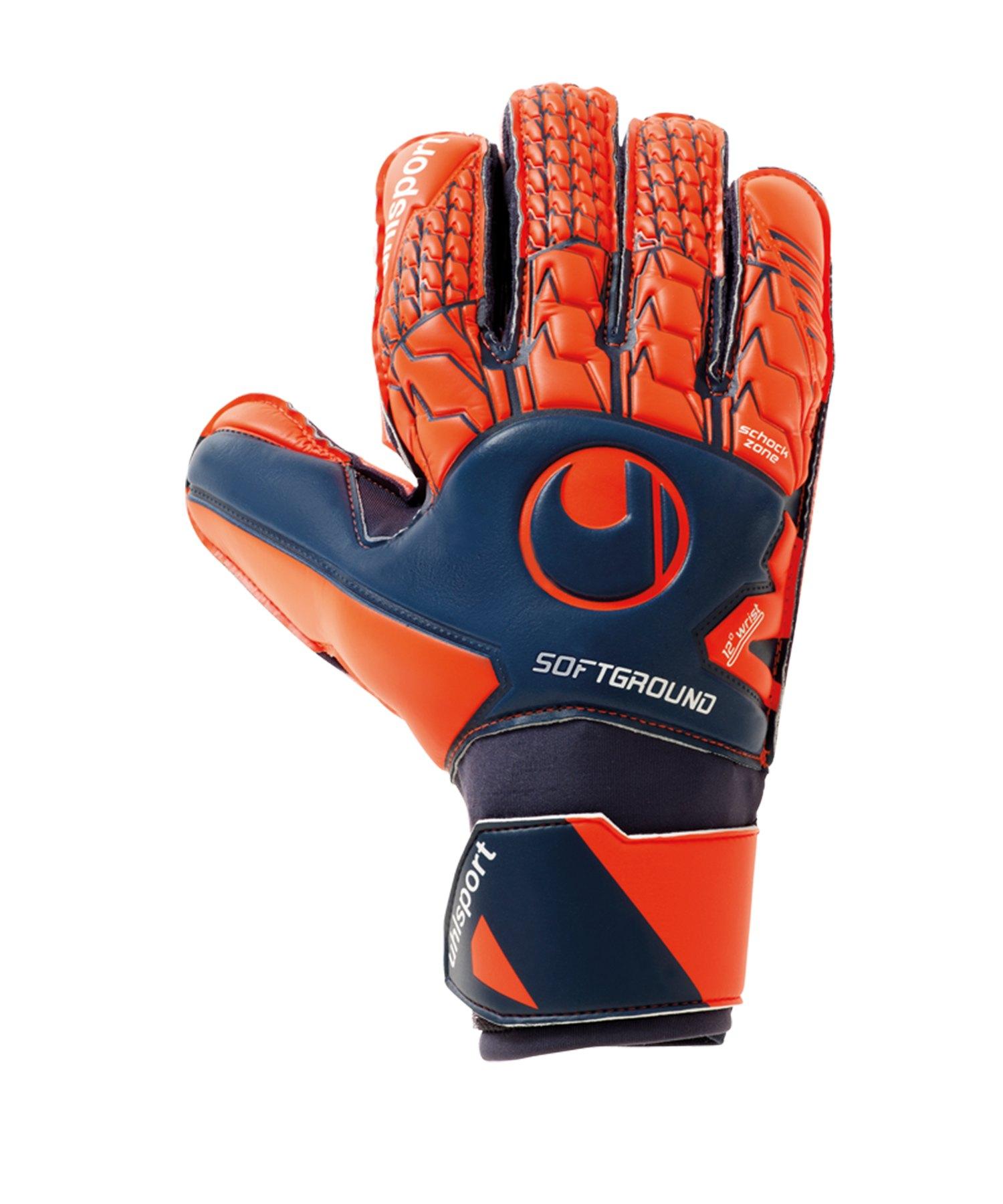 Uhlsport Next Level Soft Pro TW-Handschuh Blau F01 - blau