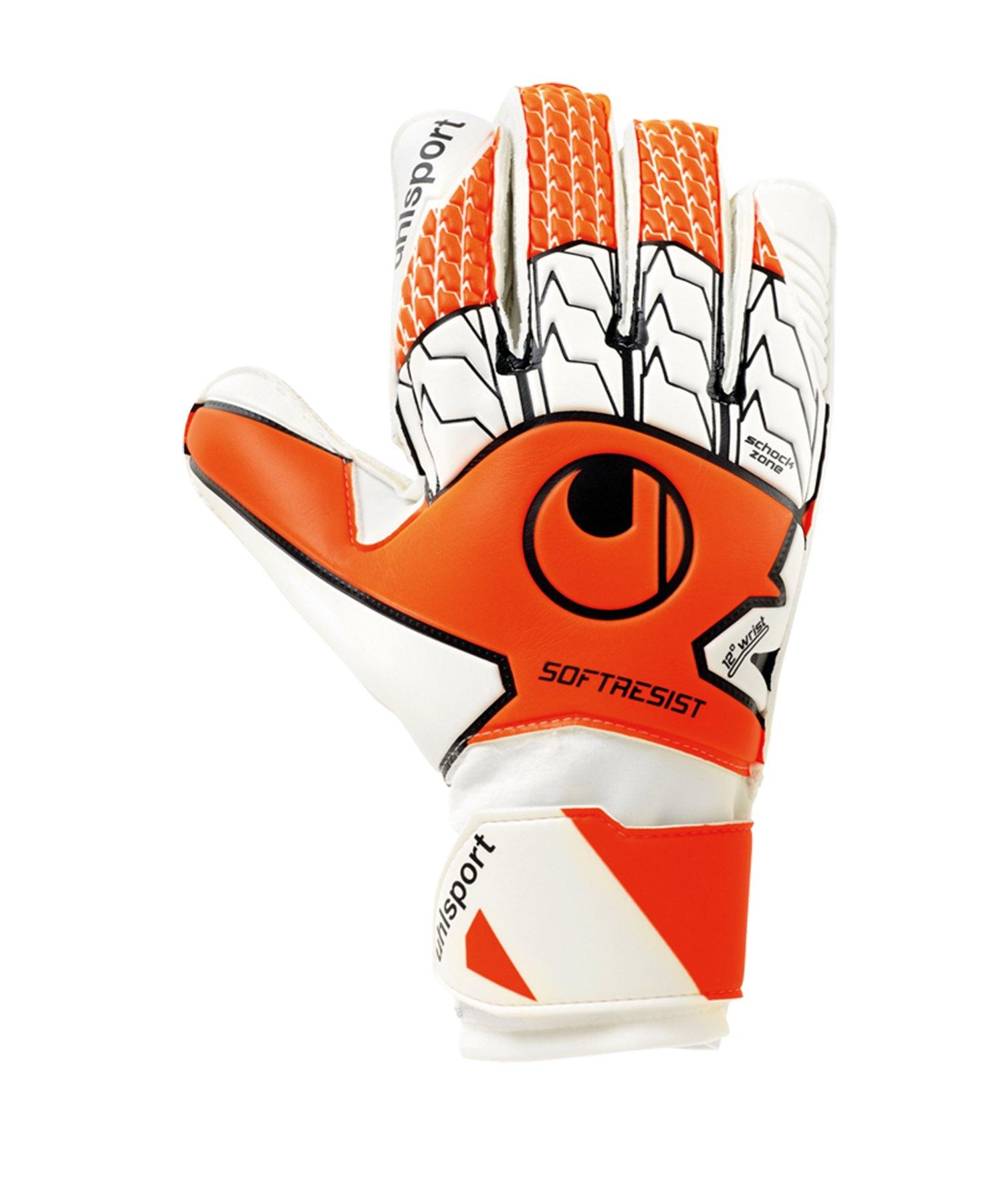 Uhlsport Soft Resist TW-Handschuh Orange F01 - orange