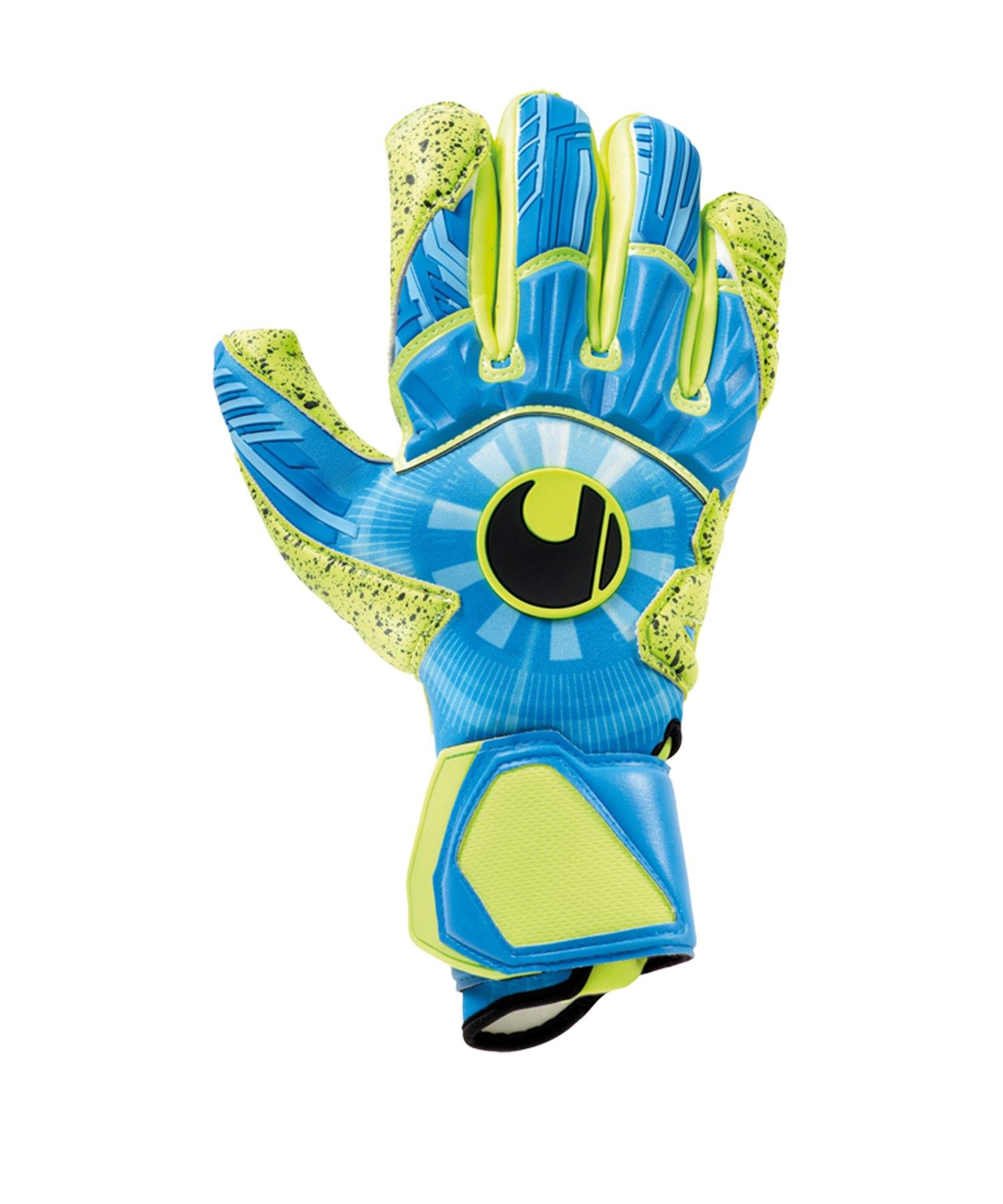 Uhlsport Radar Control Supergrip Handschuh F01 - Blau