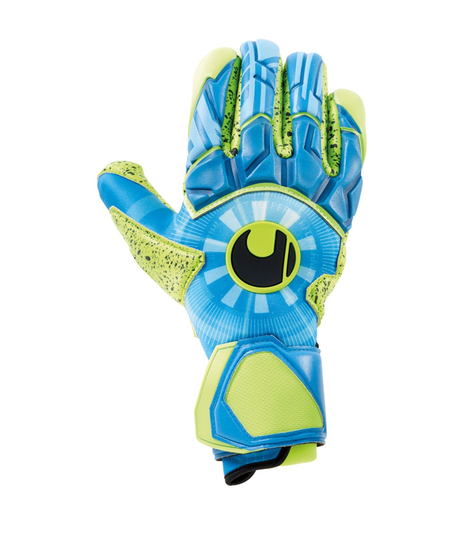 Uhlsport Radar Control Supergrip FS Handschuh F01 - Blau