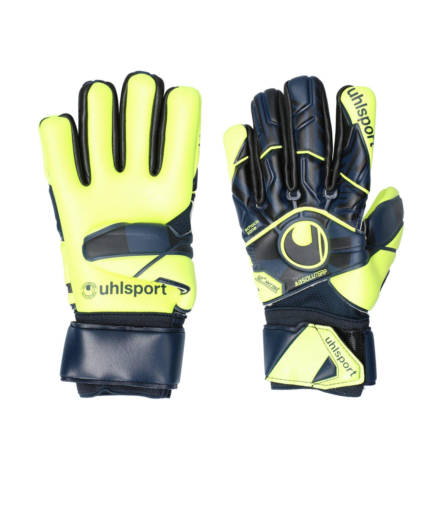 Uhlsport Absolutgrip JR PRO HN TW-Handschuh F03 - gelb