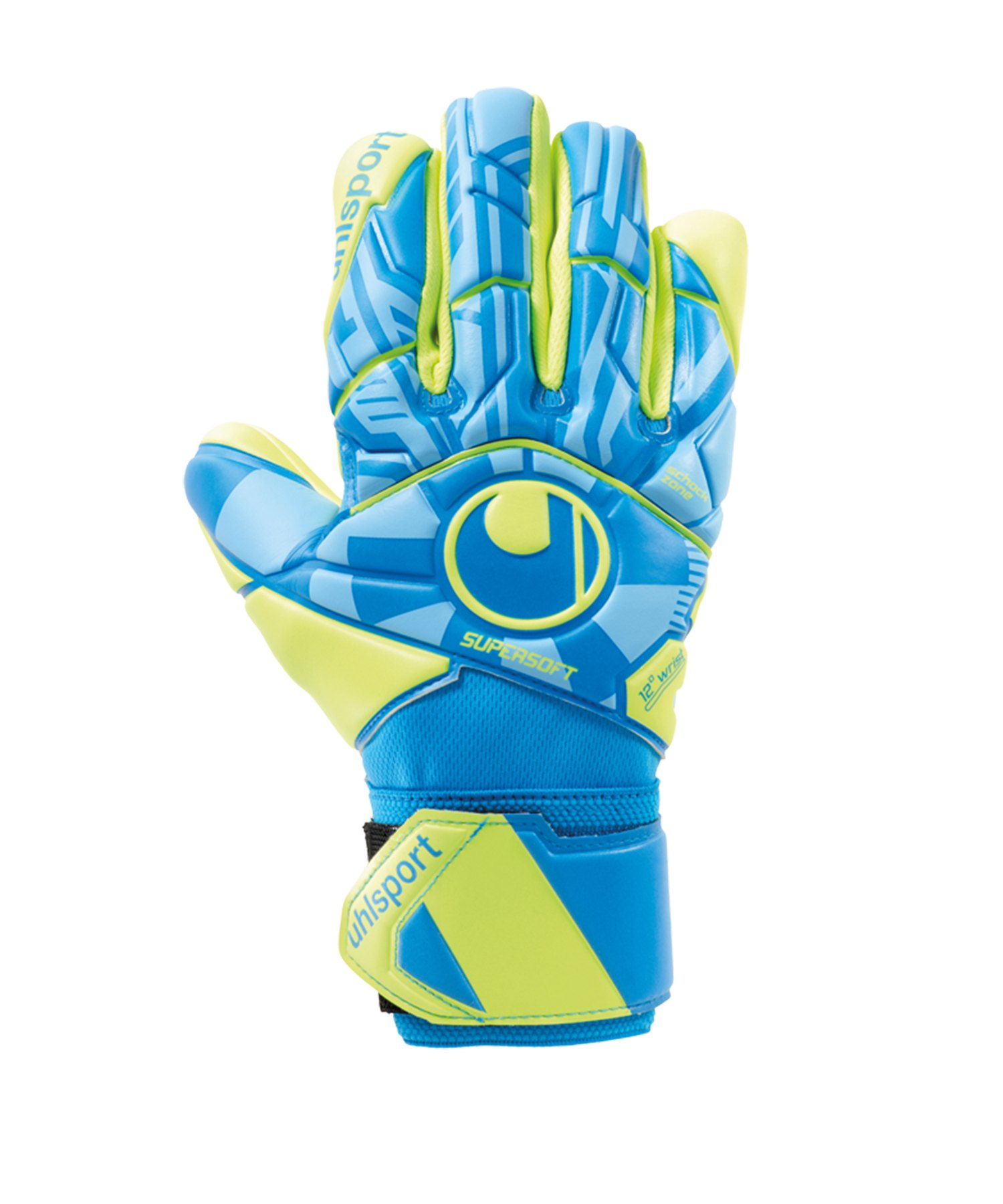 Uhlsport Radar Control Supersoft HN Handschuh F01 - Blau