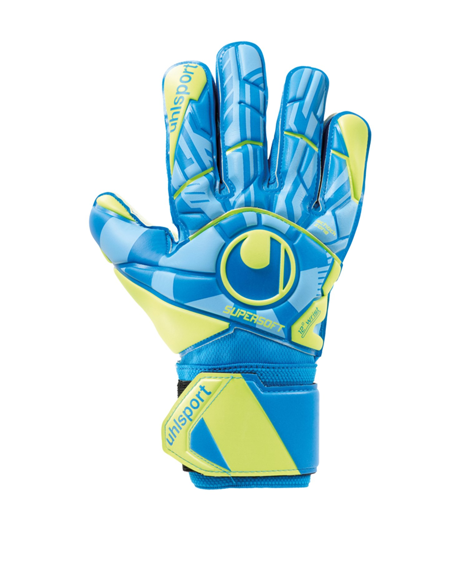 Uhlsport Radar Control Supersoft Handschuh F01 - Blau