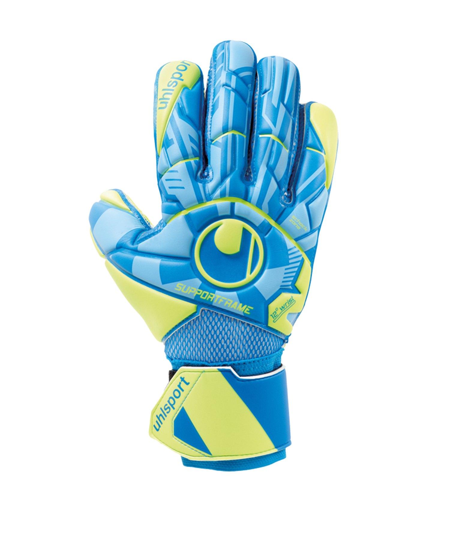 Uhlsport Radar Control Soft SF Handschuh F01 - Blau