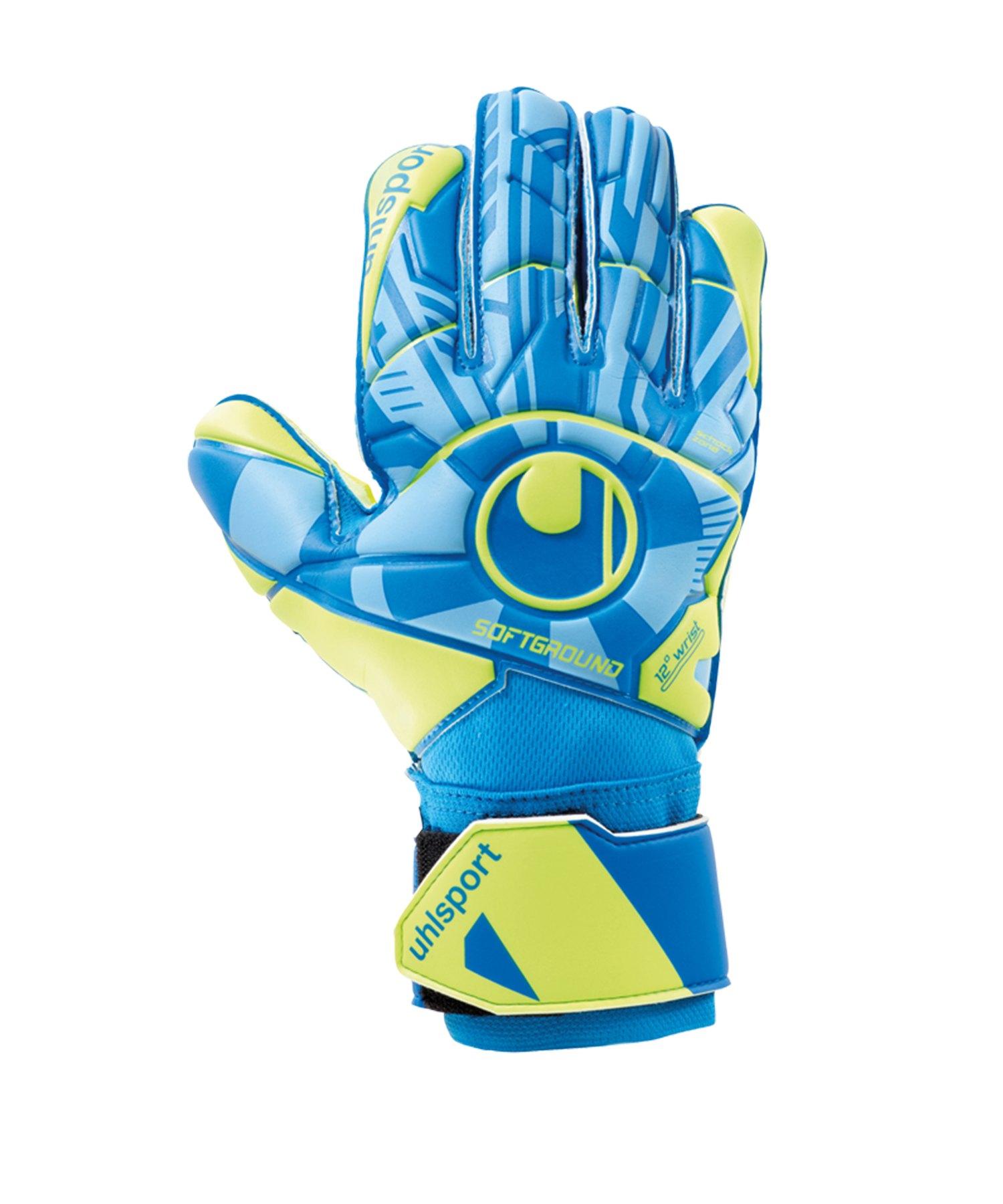 Uhlsport Radar Control Soft Pro Handschuh F01 - Blau