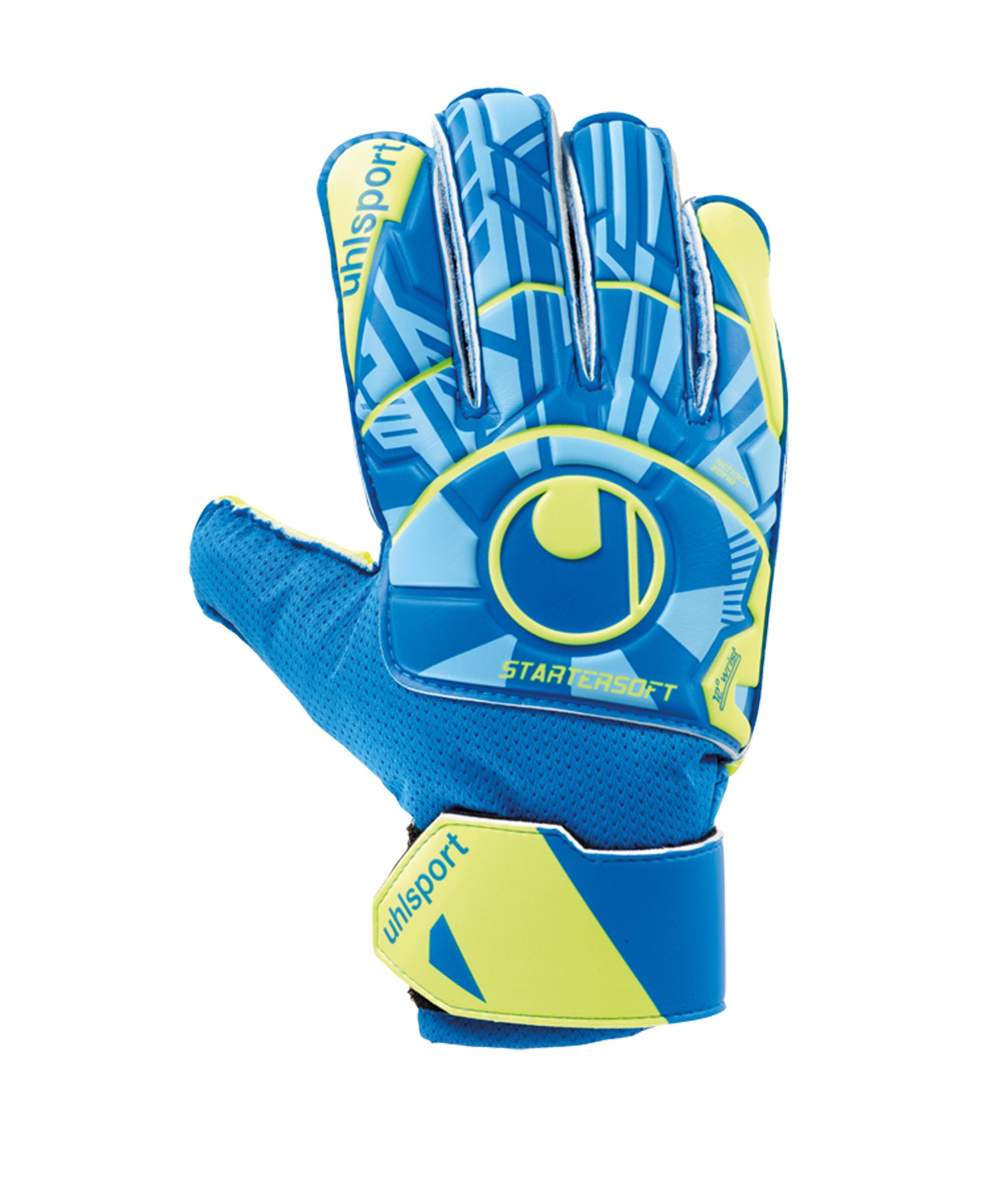 Uhlsport Radar Control Starter Soft Handschuh F01 - Blau