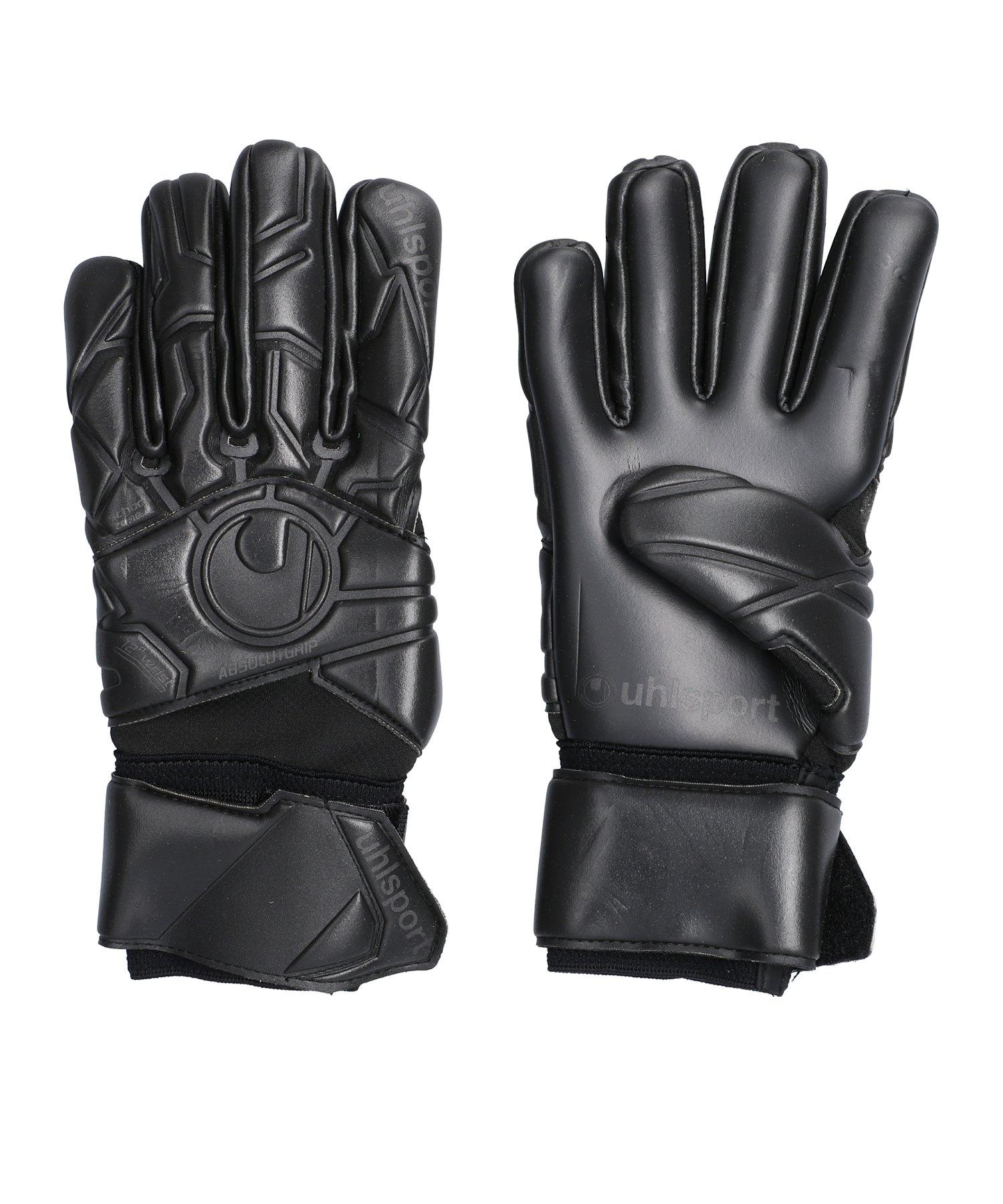 Uhlsport Black Edition Absolutgrip Handschuh F01 - schwarz