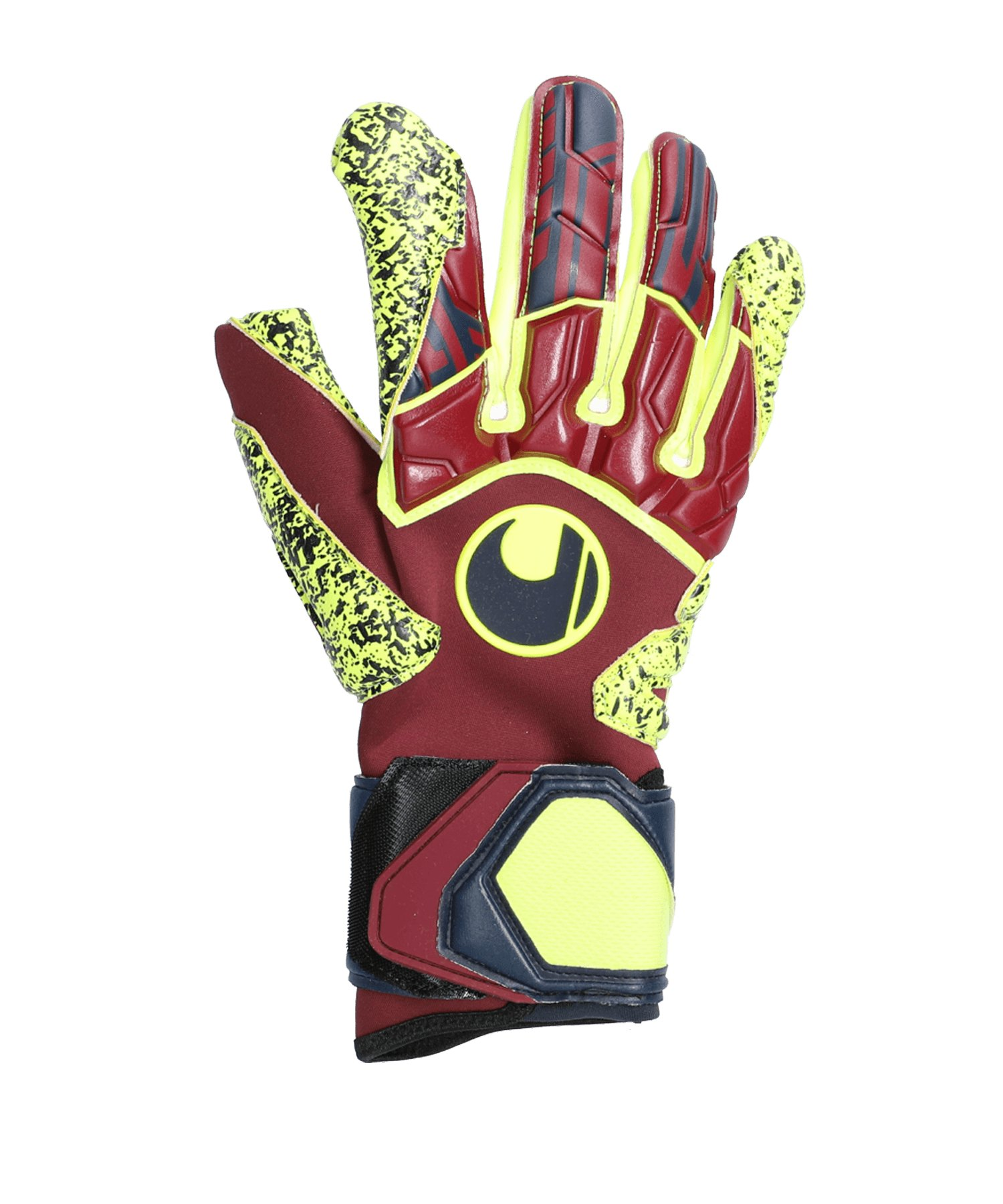 Uhlsport Dyn.Impulse Supergrip TW-Handschuh F268 - rot