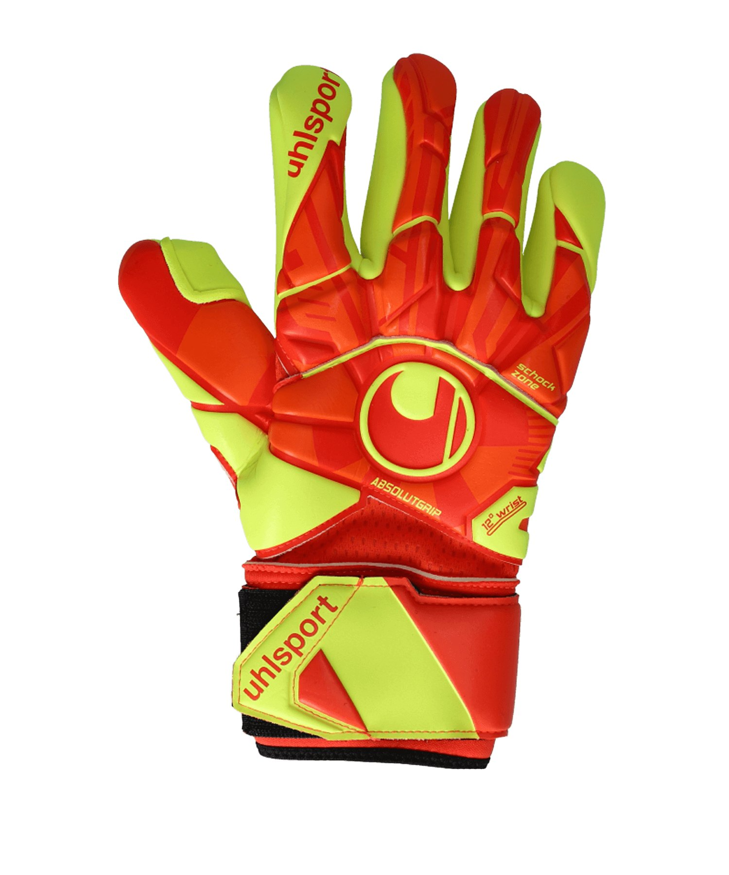 Uhlsport Dyn. Impulse Absolutgrip FS TW-Handschuh Orange F01 - orange