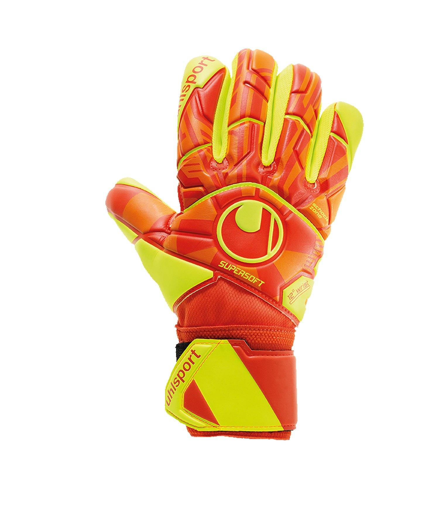 Uhlsport Dyn Impulse Supersoft HN TW-Handschuh F01 - orange