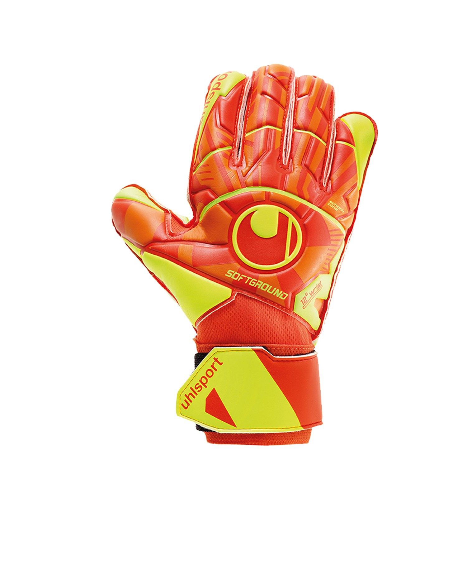 Uhlsport Dyn. Impulse Soft Pro TW-Handschuh F01 - orange