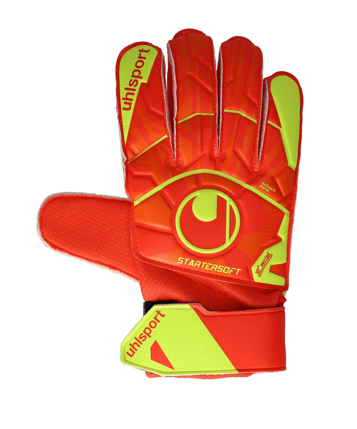 Uhlsport Dyn. Impulse Starter Soft TW-Handschuh Orange F01 - orange