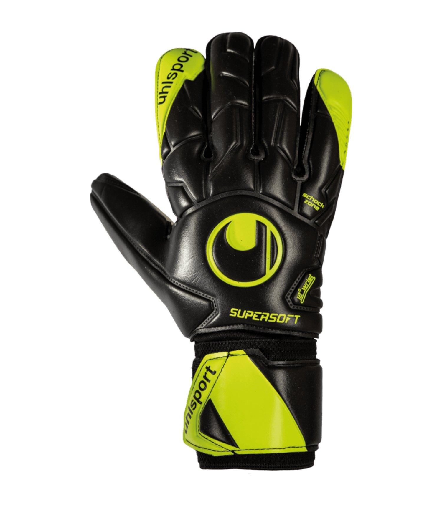 Uhlsport Supersoft HN Flex Frame TW-Handschuh F01 - schwarz