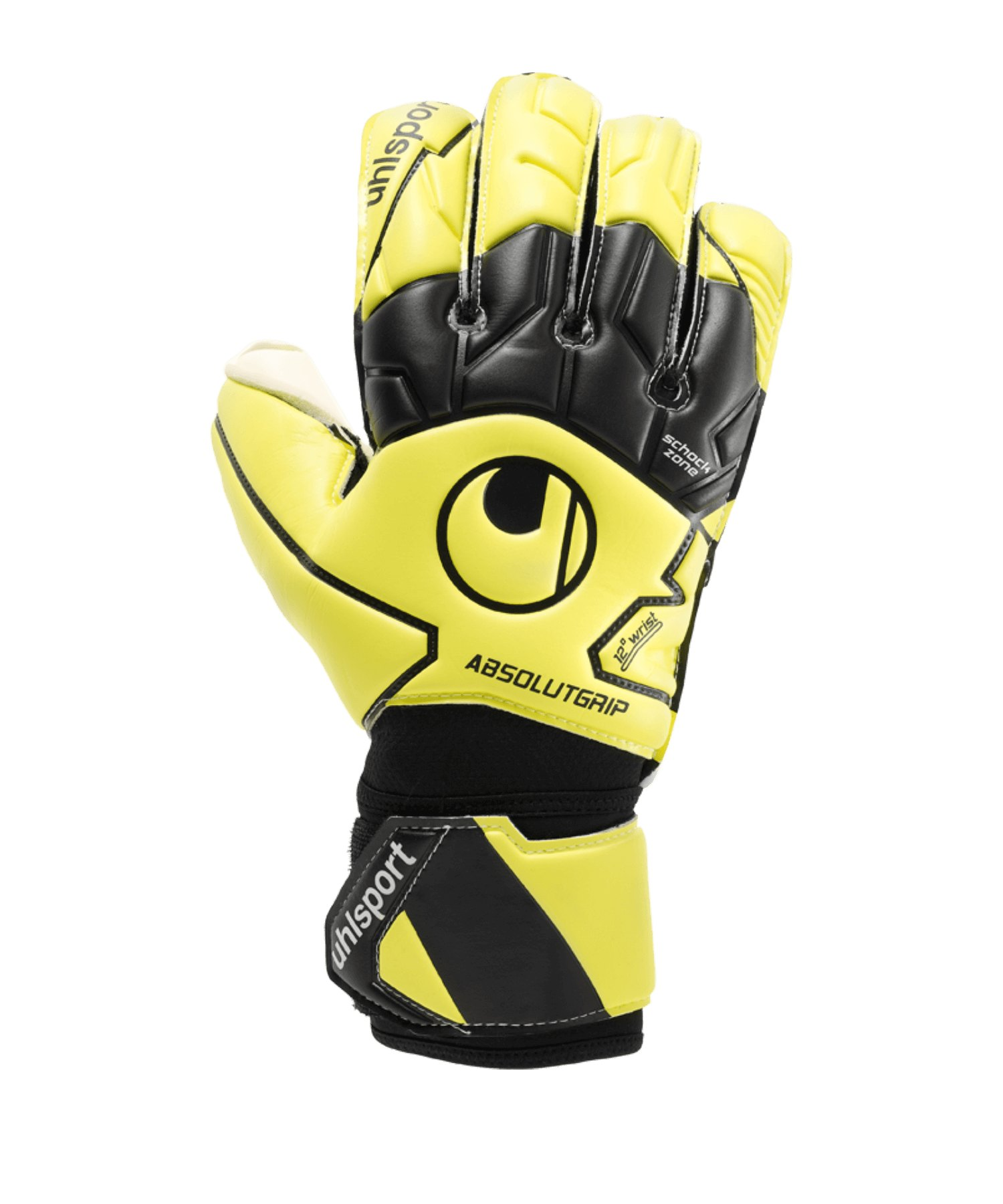 Uhlsport Absolutgrip Flex Frame Car Handschuh F01 - gelb