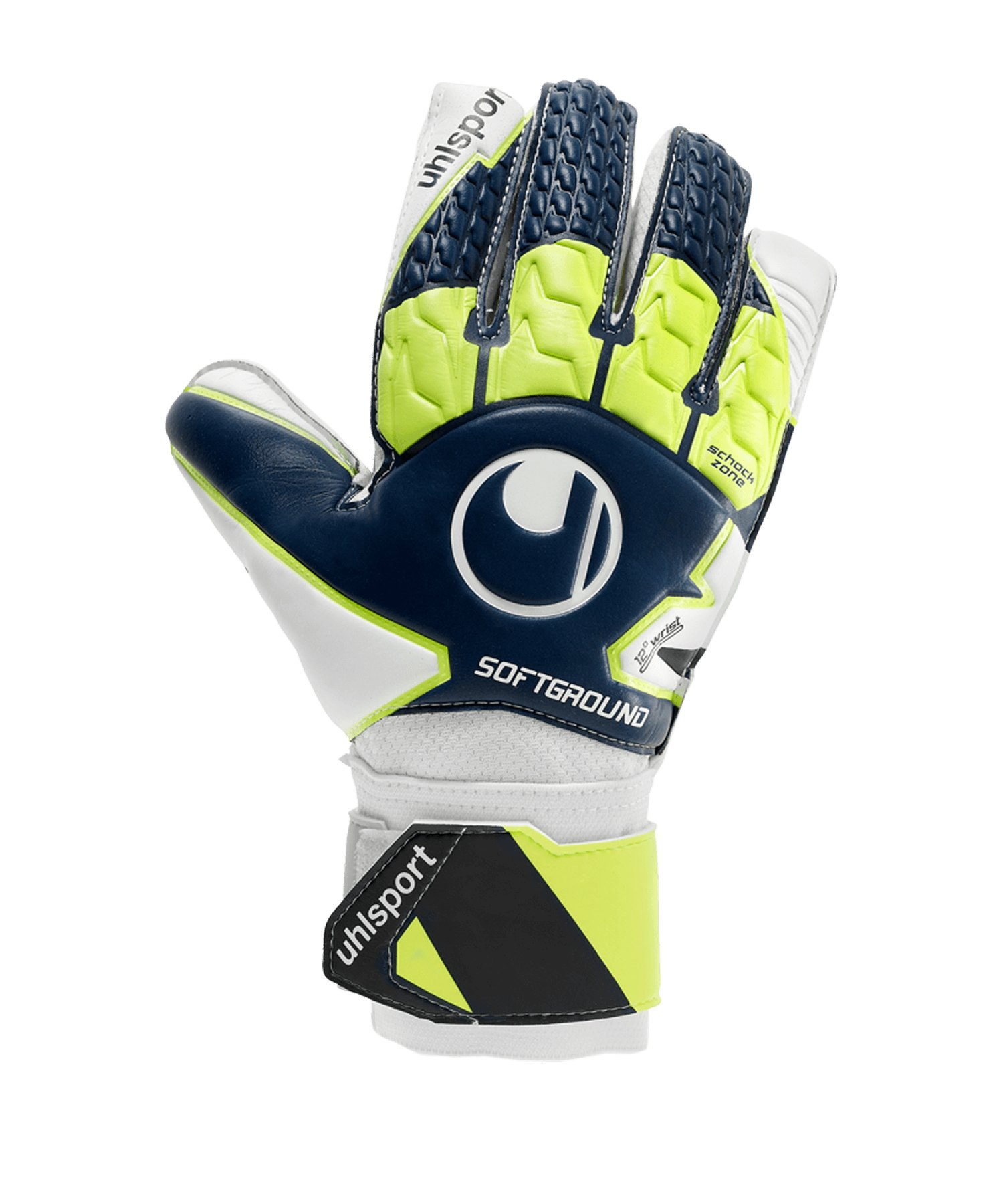 Uhlsport Soft Advanced Torwarthandschuh Blau F01 - blau