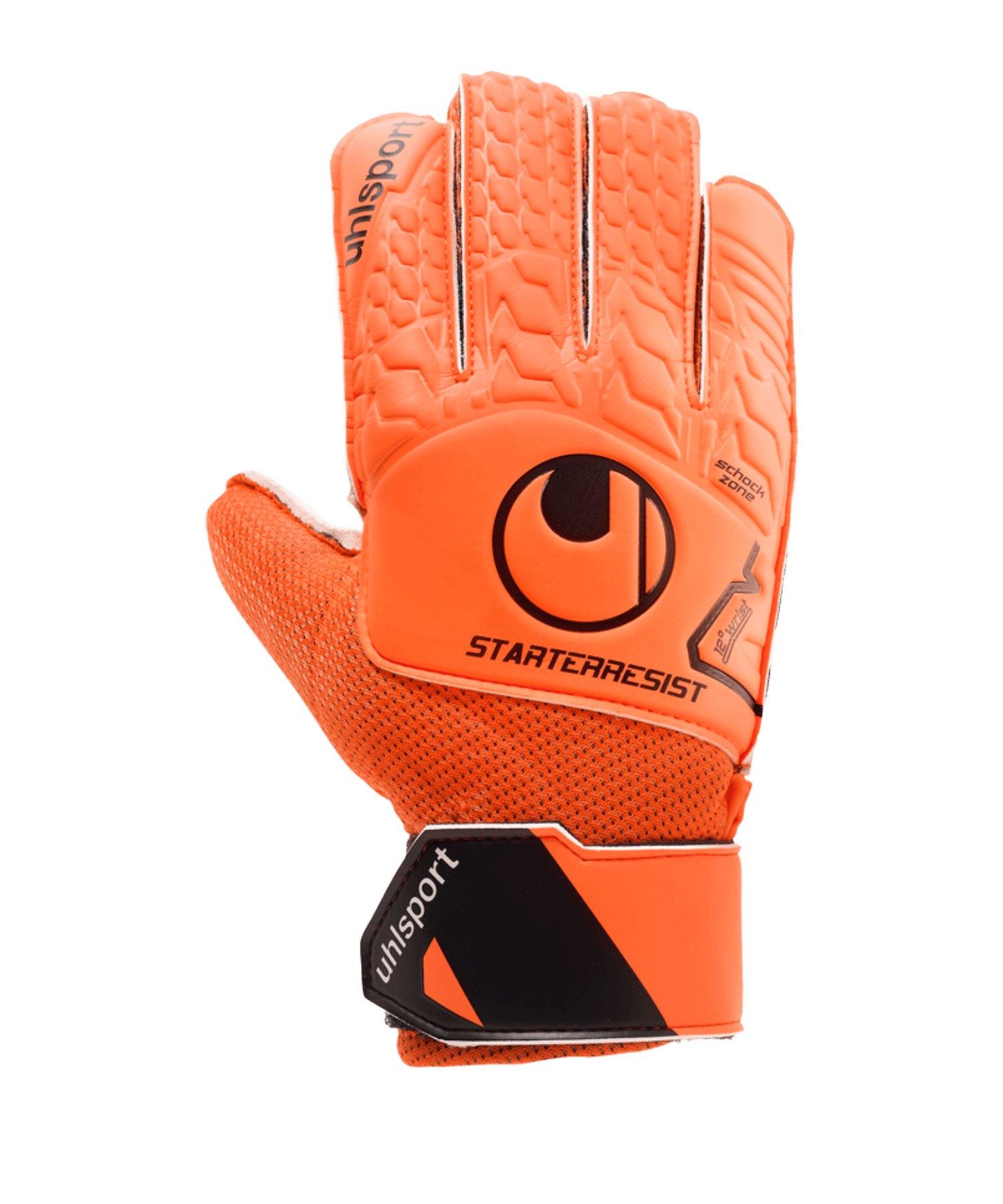 Uhlsport Starter Resist Torwarthandschuh F01 - orange