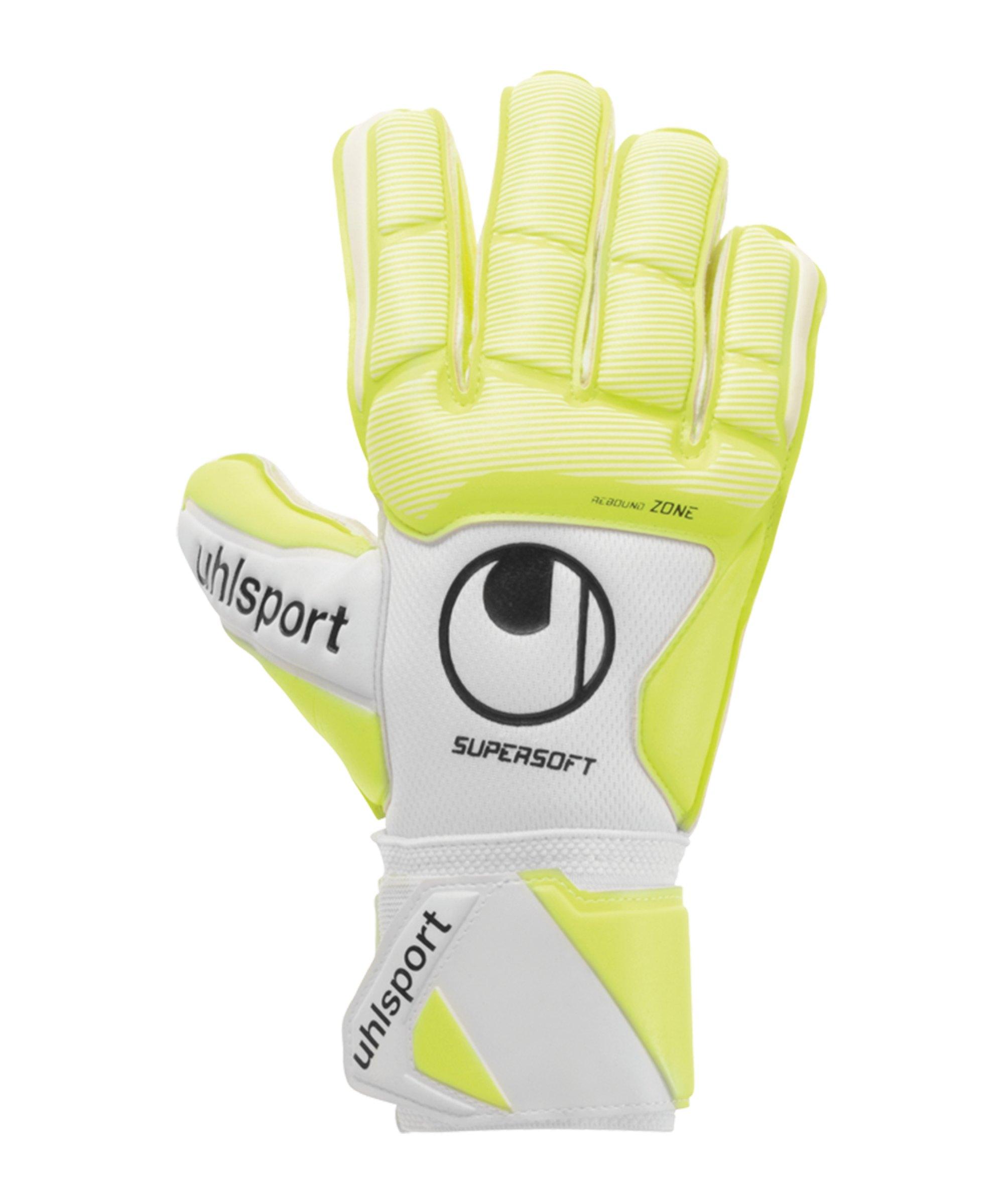 Uhlsport Pure Alliance Supersoft Handschuh F01 - weiss