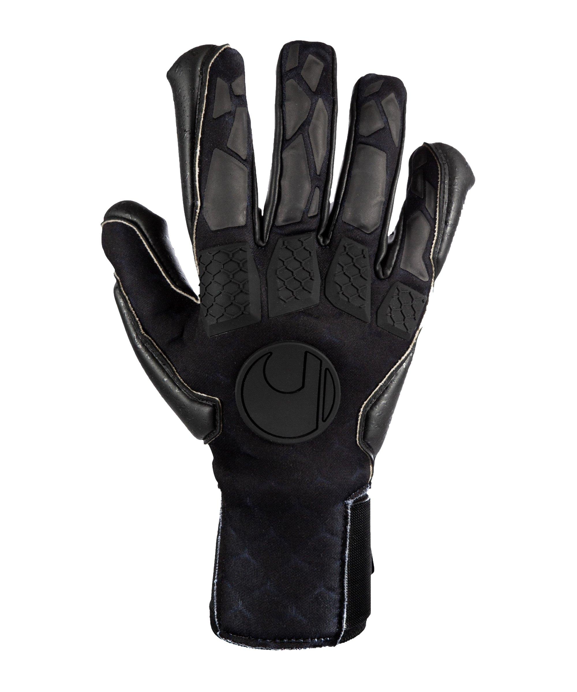 Uhlsport Hyperblack Supergrip+ HN TW-Handschuhe Schwarz F02 - schwarz