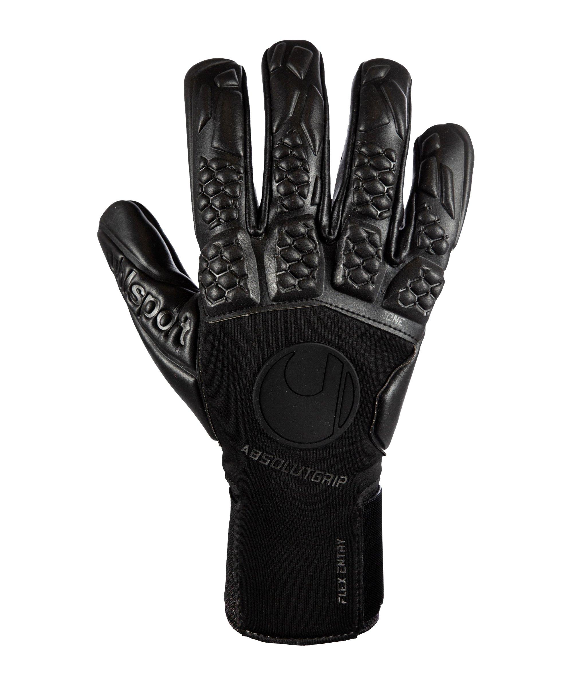 Uhlsport Hyperblack Absolutgrip HN TW-Handschuhe Schwarz F02 - schwarz