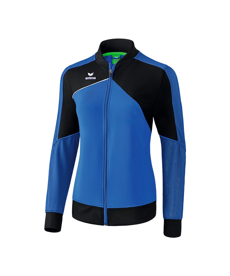 Erima Premium One 2.0 Präsi-Jacke Damen Blau - blau
