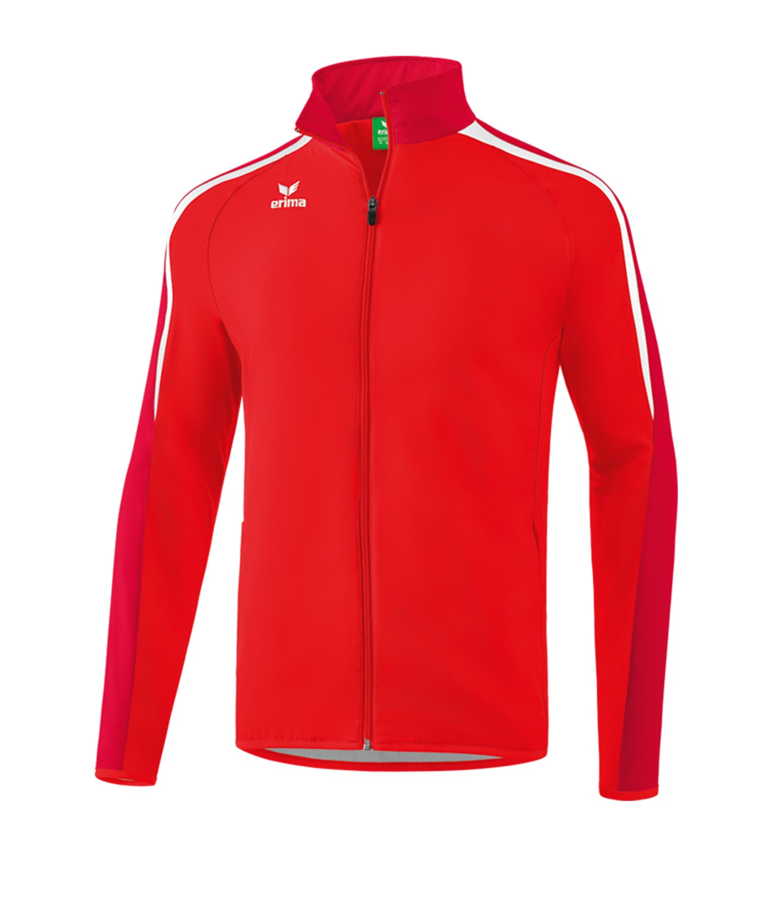 Erima Liga 2.0 Präsentationsjacke Rot Weiss - rot