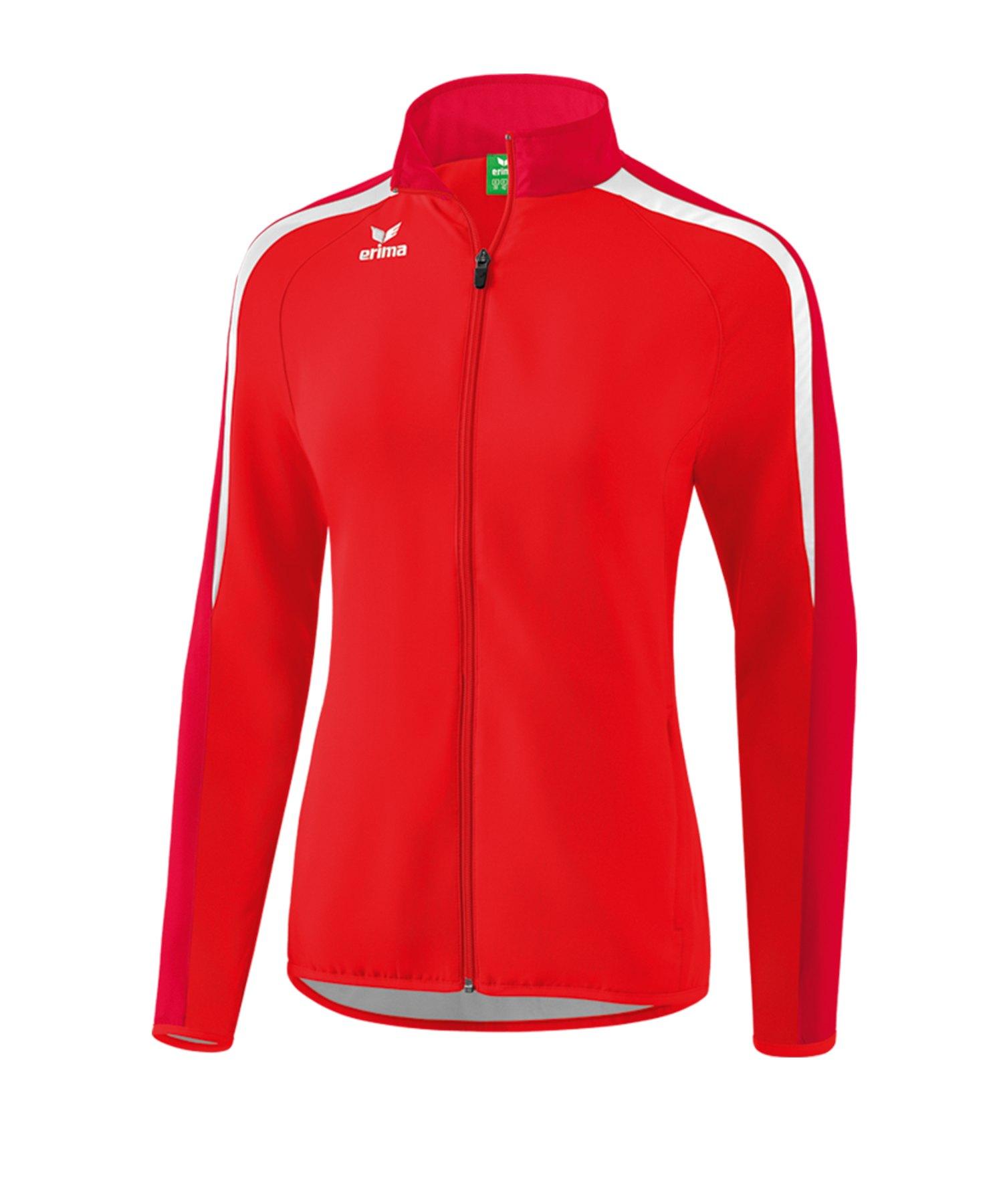 Erima Liga 2.0 Präsentationsjacke Damen Rot Weiss - rot