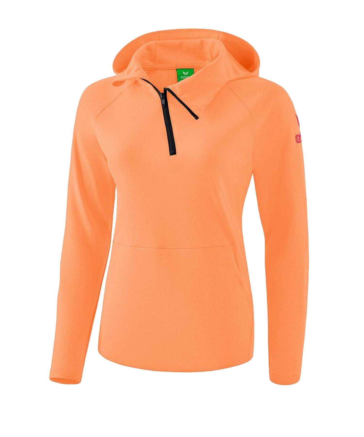 Erima Essential Kapuzensweat Kids Orange - Orange