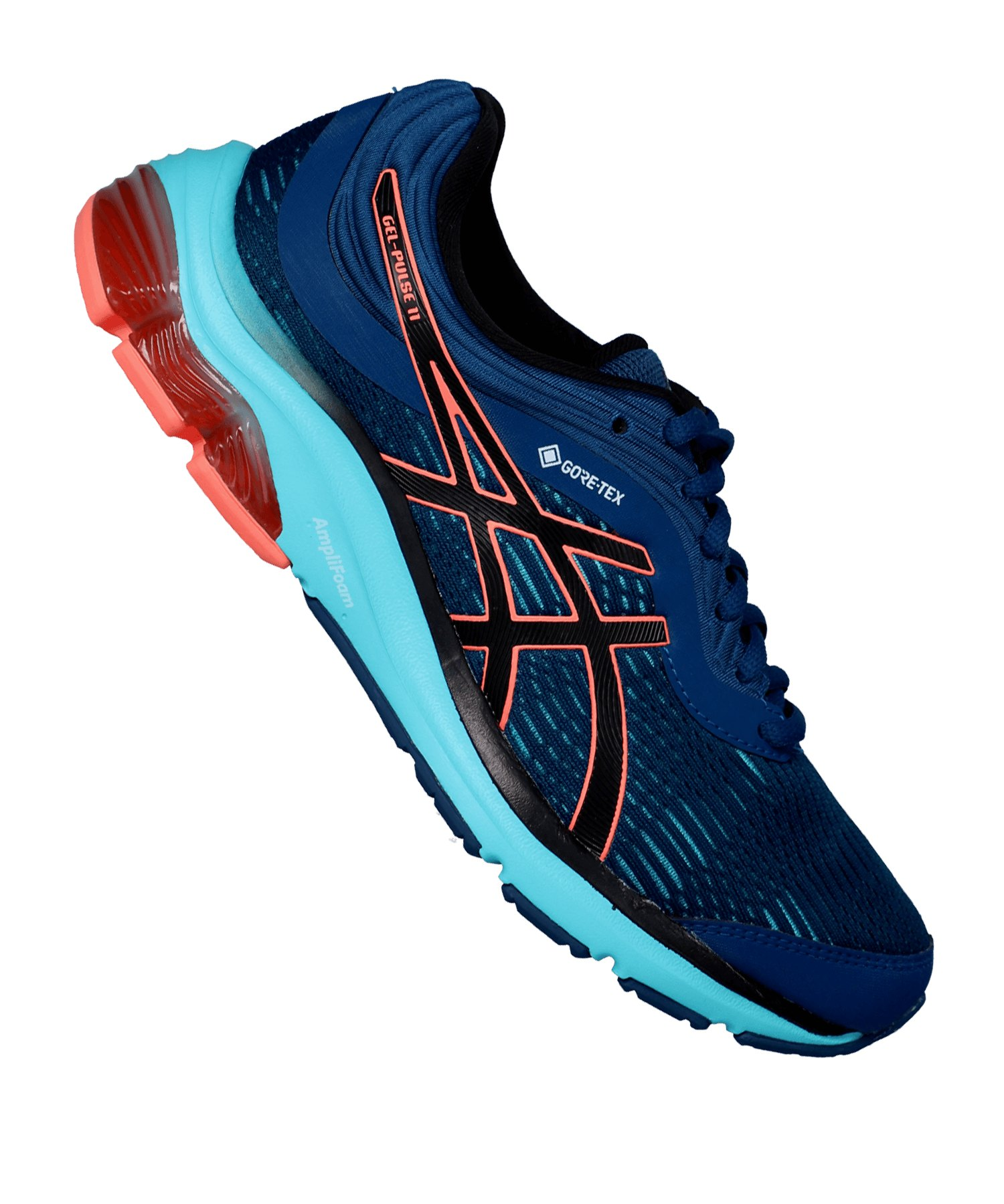Asics Gel-Pulse 11 G-TX Running Damen Blau F400 - blau