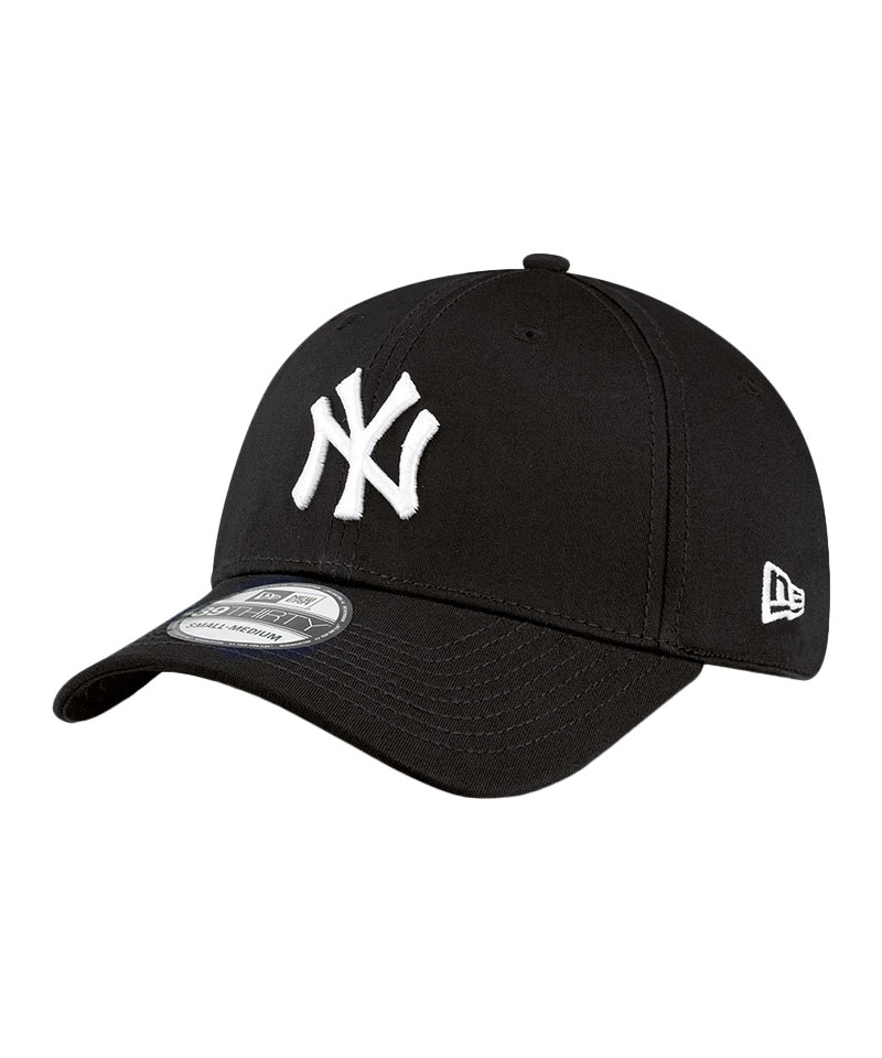 New Era NY Yankees 39Thirty League Basic Schwarz - schwarz