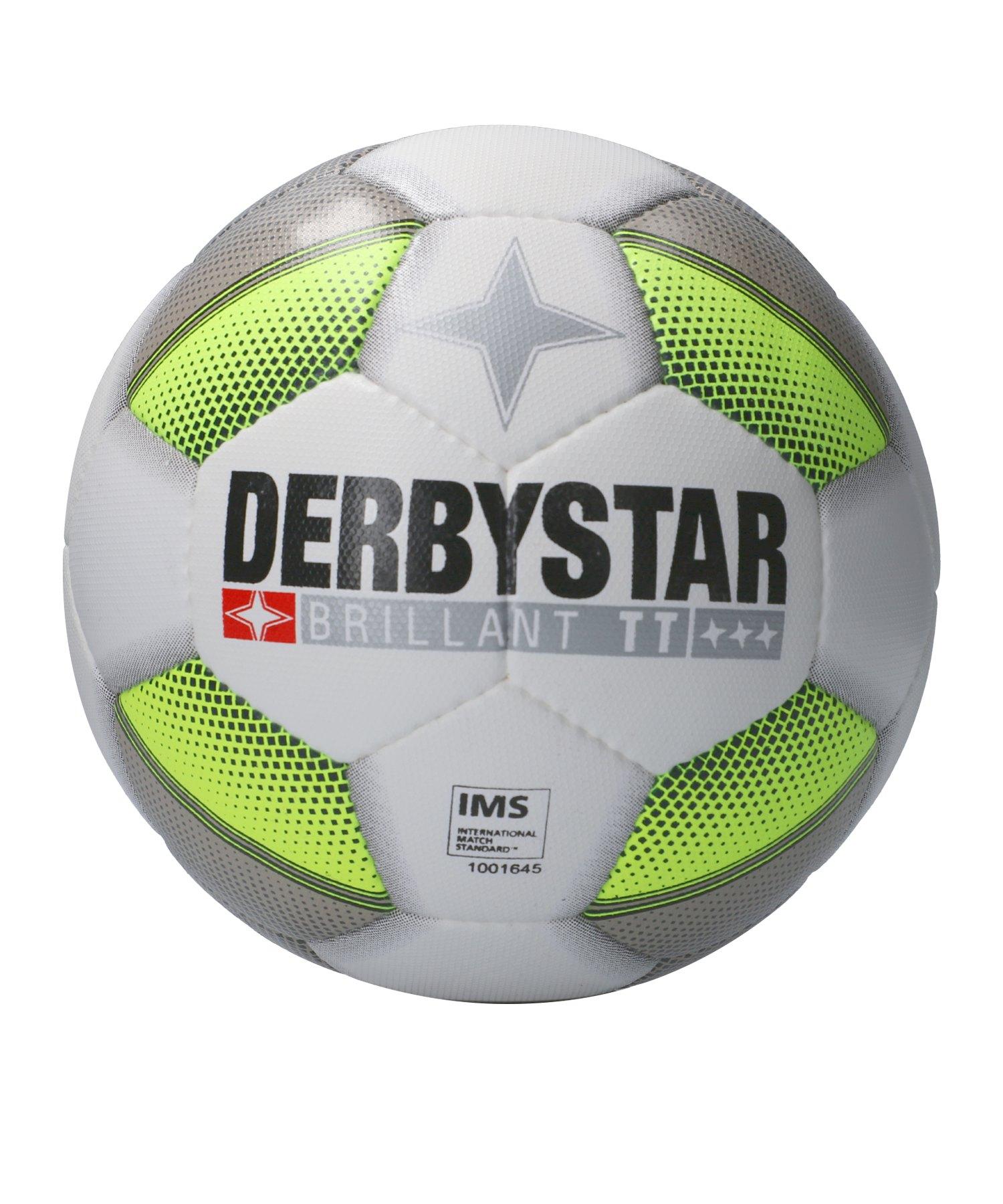 Derbystar Brillant TT DB+ Trainingsball Weiss F195 - weiss