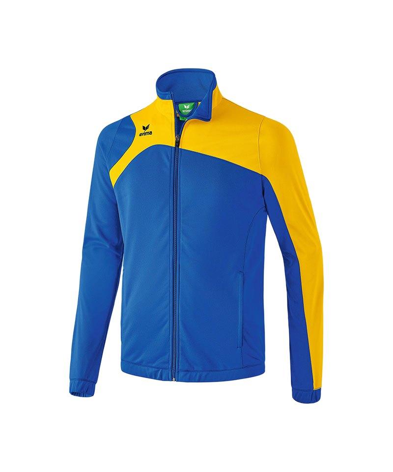 Erima Polyesterjacke Club 1900 2.0 Blau Gelb - blau